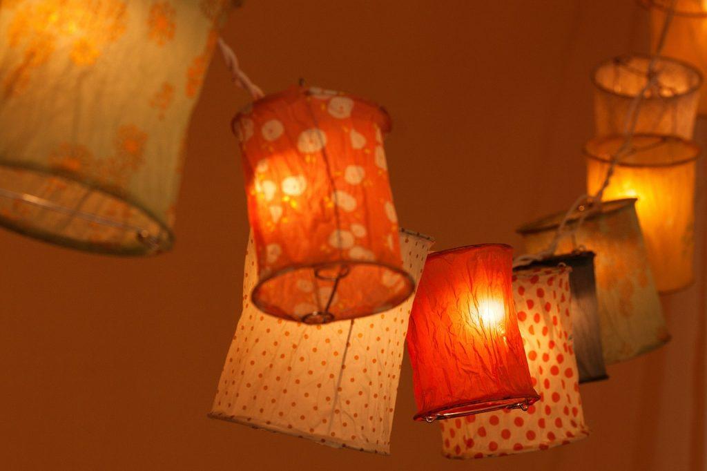 lampiony DIY, lampiony handmade,
